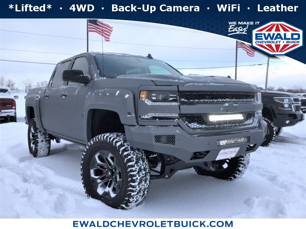 2018 Chevrolet Silverado 1500 LT, 18CF1468, Photo 1