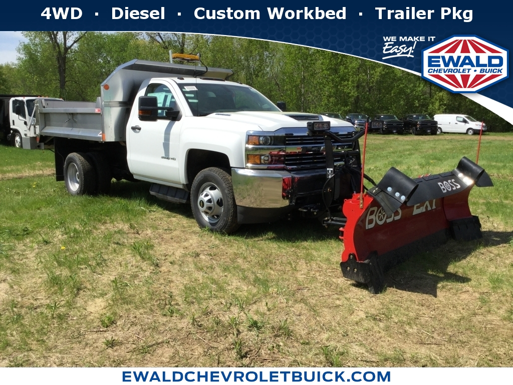 2018 Chevrolet Silverado 3500HD Work Truck, 18C778, Photo 1