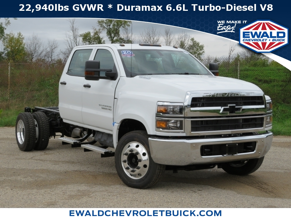 2019 Chevrolet Silverado 6500MD 2WD Reg Cab, 19C455, Photo 1