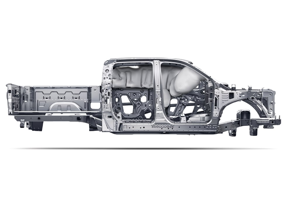 Silverado air bag cutaway