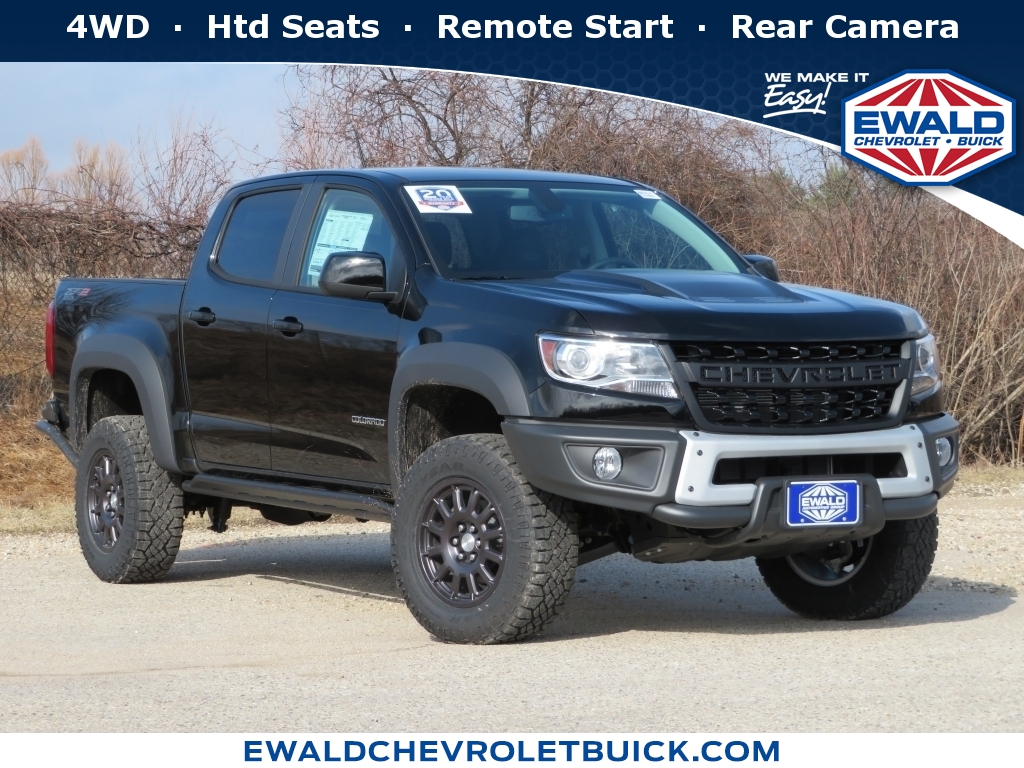 2020 Chevrolet Colorado 4WD Work Truck, 20C745, Photo 1