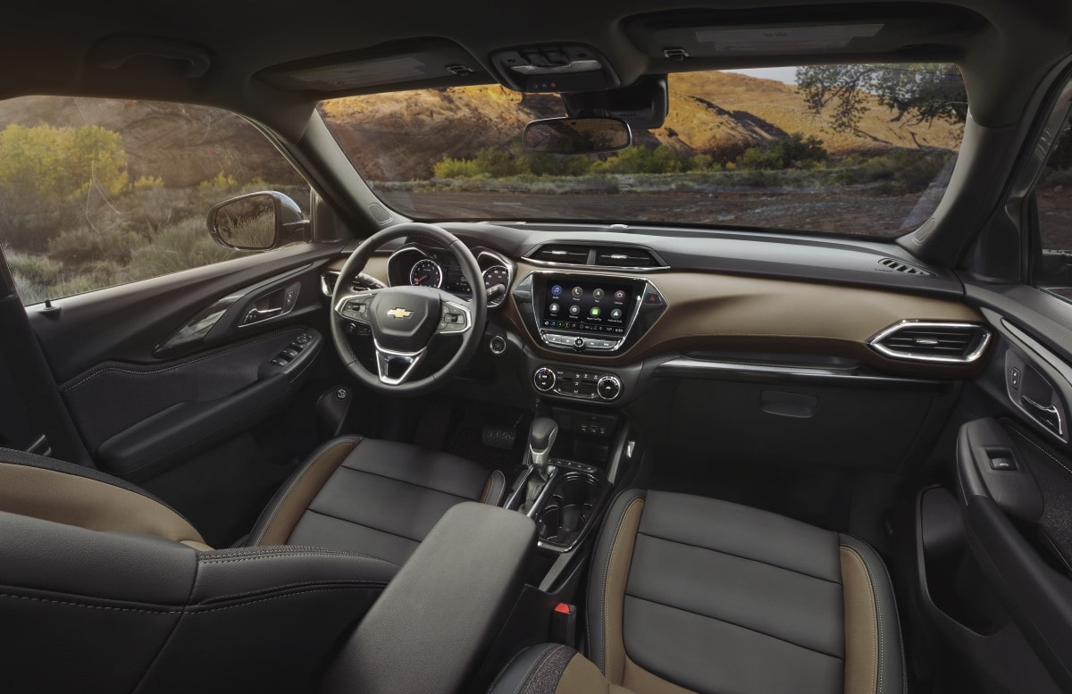 2021 Trailblazer Interior
