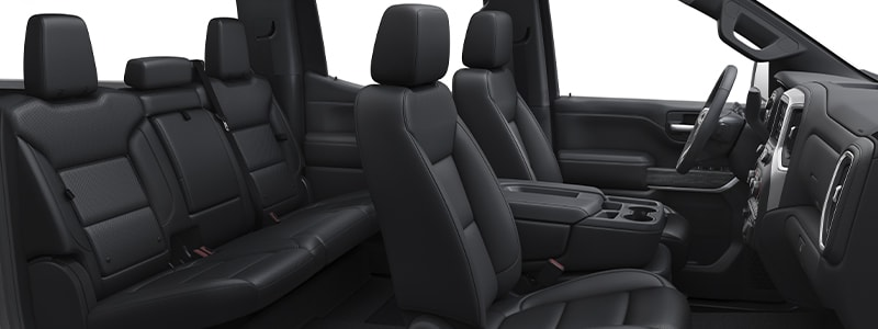 2021 Silverado feature interior