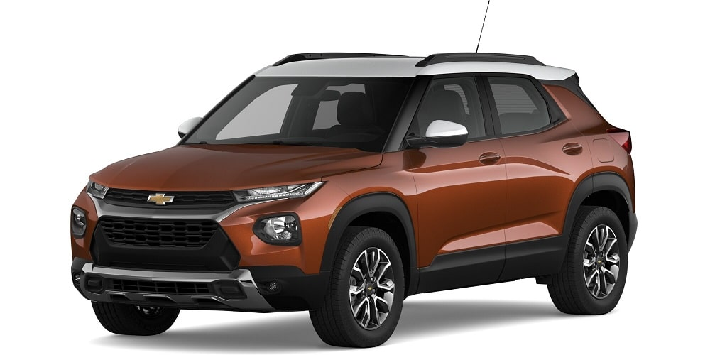 2021 Chevrolet Trailblazer - Dark Copper Metallic / Summit White