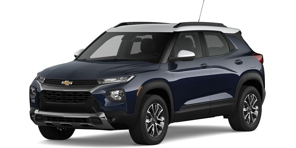 2021 Chevrolet Trailblazer - Midnight Blue Metallic / Summit White