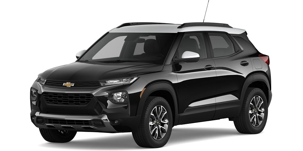 2021 Chevrolet Trailblazer - Mosaic Black Metallic / Summit White