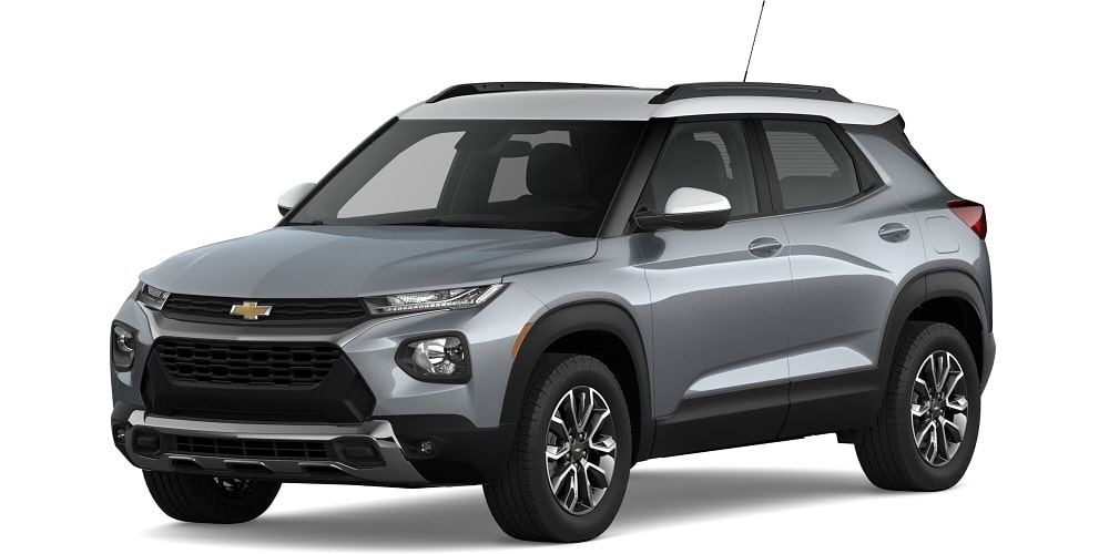 2021 Chevrolet Trailblazer - Satin Steel Metallic / Summit White