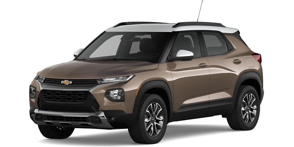 2021 Chevrolet Trailblazer - Zeus Bronze Metallic / Summit White