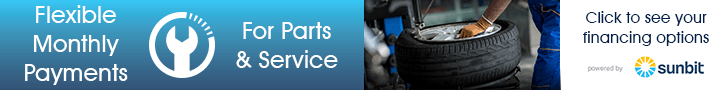 Flexible Monthly Payments for Service & Parts