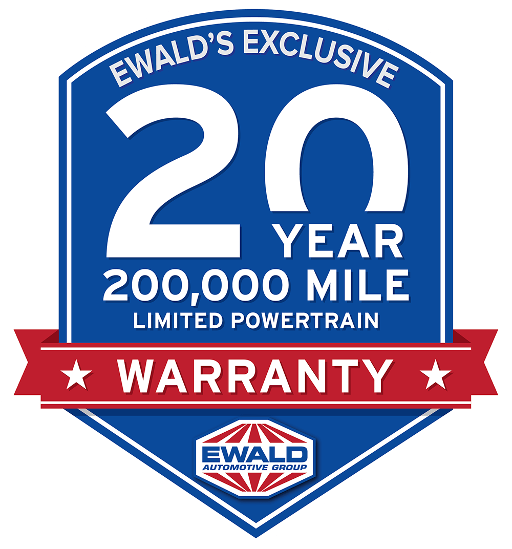 Home of the 20 Year / 200,000 Mile Powertrain Warrant