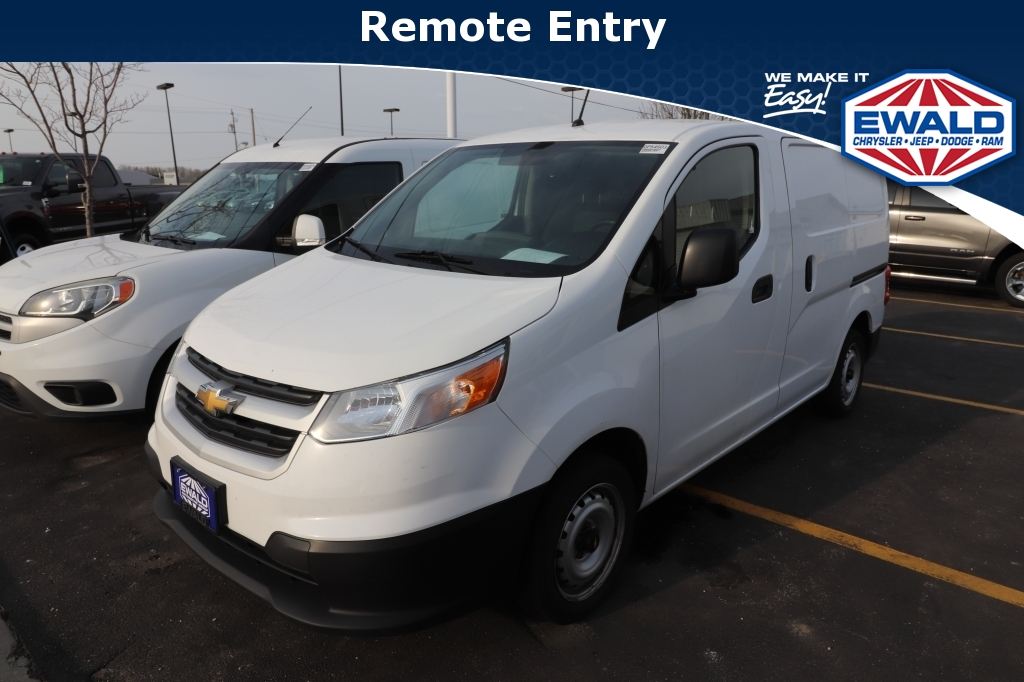 2015 Chevrolet City Express Cargo Van LT, 21C636A, Photo 1