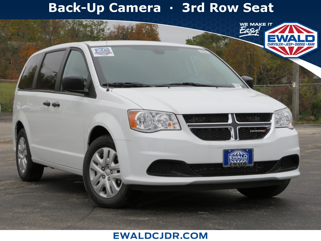 2019 Dodge Grand Caravan SXT, DK417, Photo 1