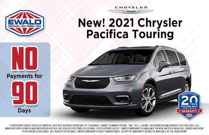 Chrysler Pacifica Offer