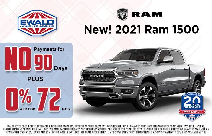 Ram Offer