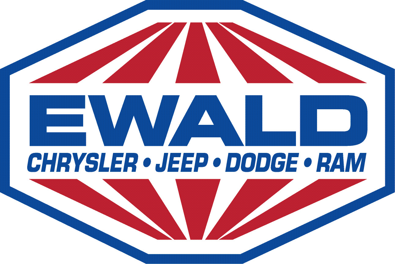 Ewald Chrysler Jeep Dodge Ram Franklin Logo
