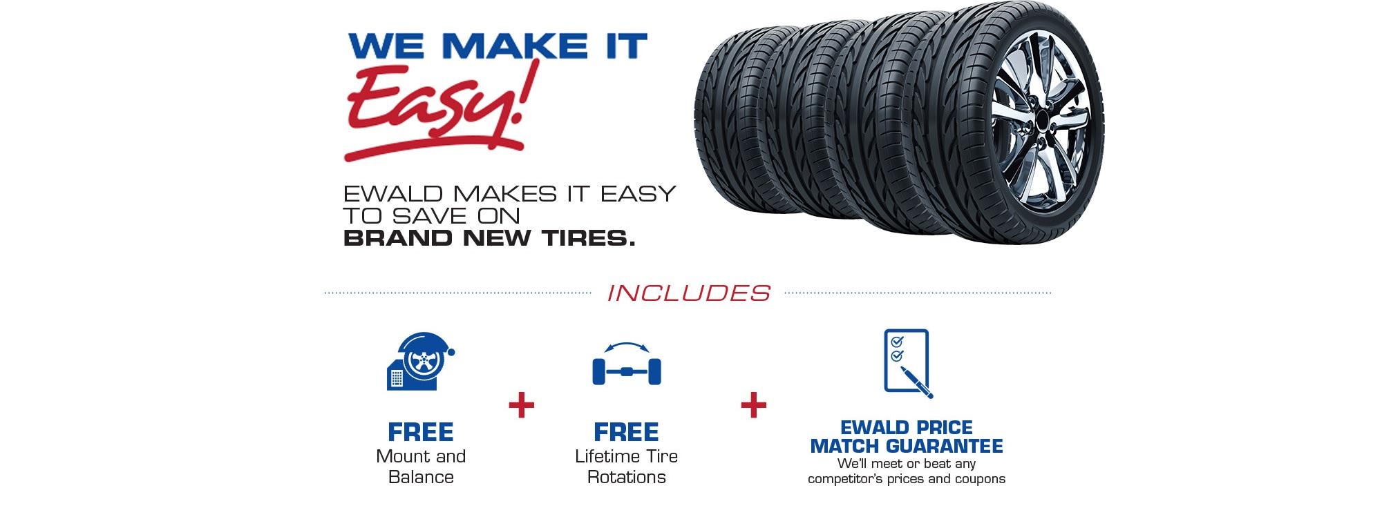Save On Tires With Ewald Chrysler Jeep Dodge Ram Ewald Cjdr