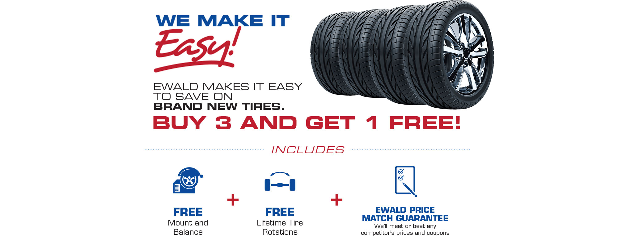 Ewald Chrysler Dodge Jeep Ram Makes It Easy To Save On Tires. Tires