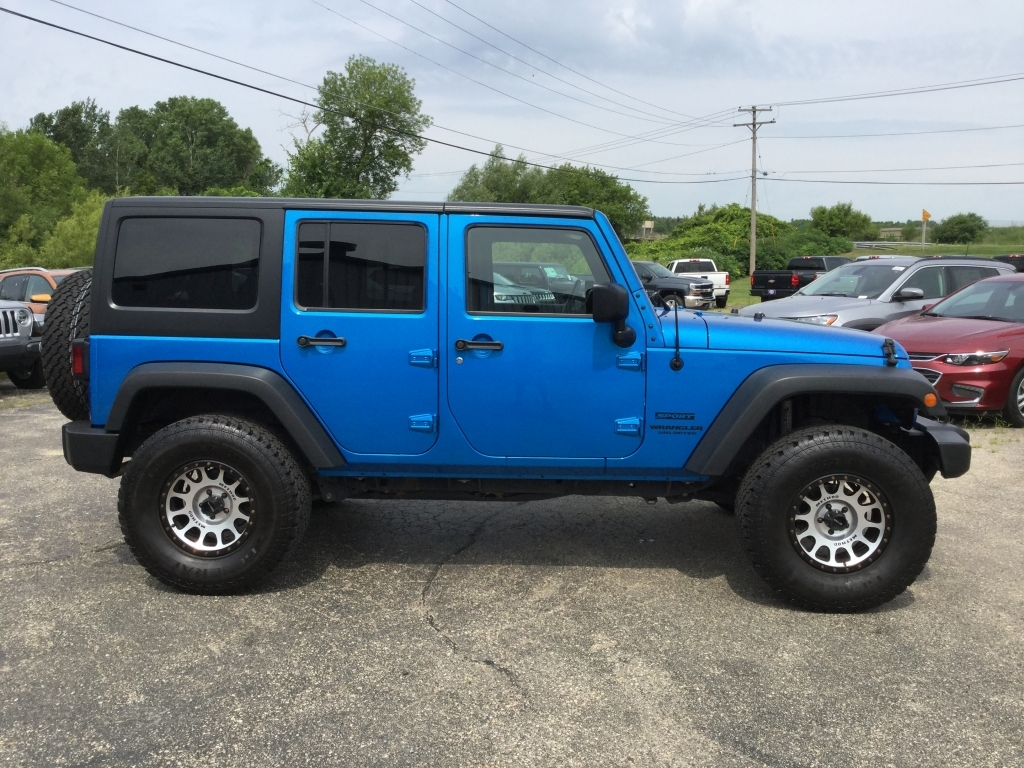 Used Jeeps Near Me >> 2017 Jeep Wrangler Unlimited Rubicon