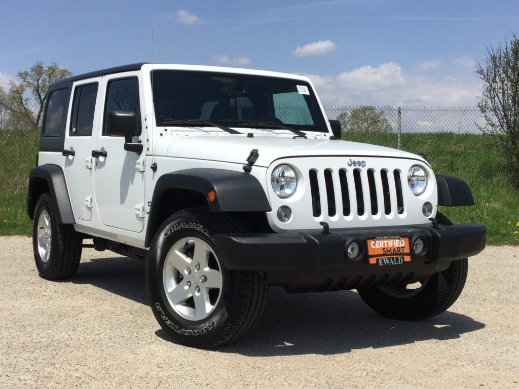 2016 Jeep Wrangler Unlimited Sport, CN1687, Photo 1
