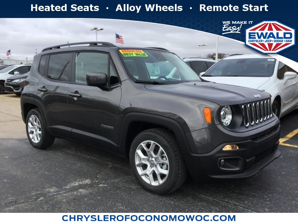 2017 Jeep Renegade Latitude, C17J314, Photo 1