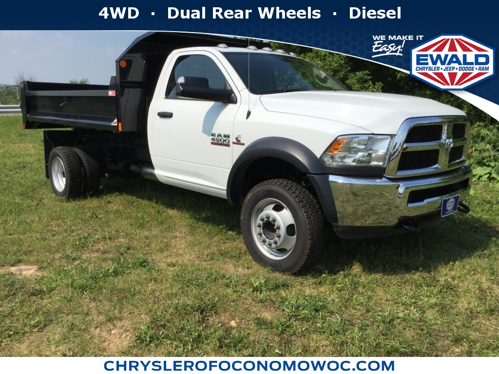 2018 Ram 4500 Chassis Cab Tradesman, D18D400, Photo 1