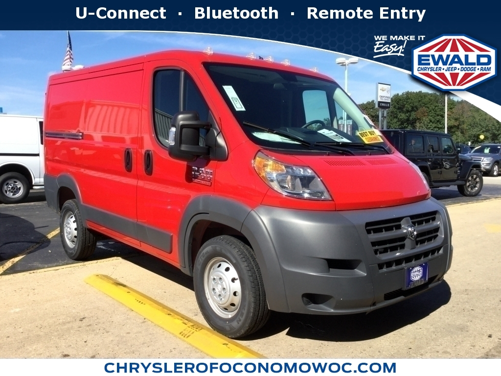 2018 Ram ProMaster Cargo Van 2500 High Roof 136