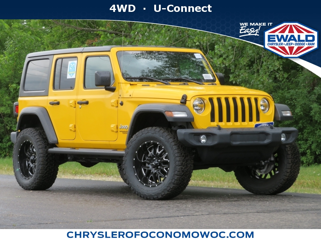 2019 Jeep Wrangler Unlimited Sahara, C19J151, Photo 1
