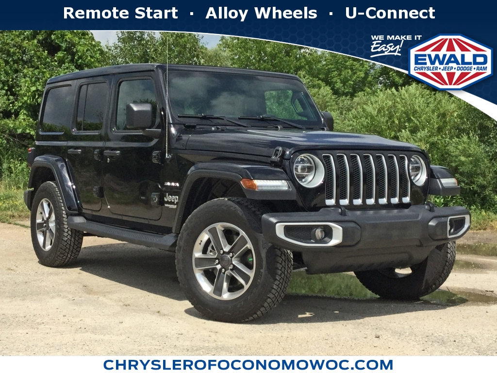 2019 Jeep Wrangler Unlimited Sahara, C19J250, Photo 1