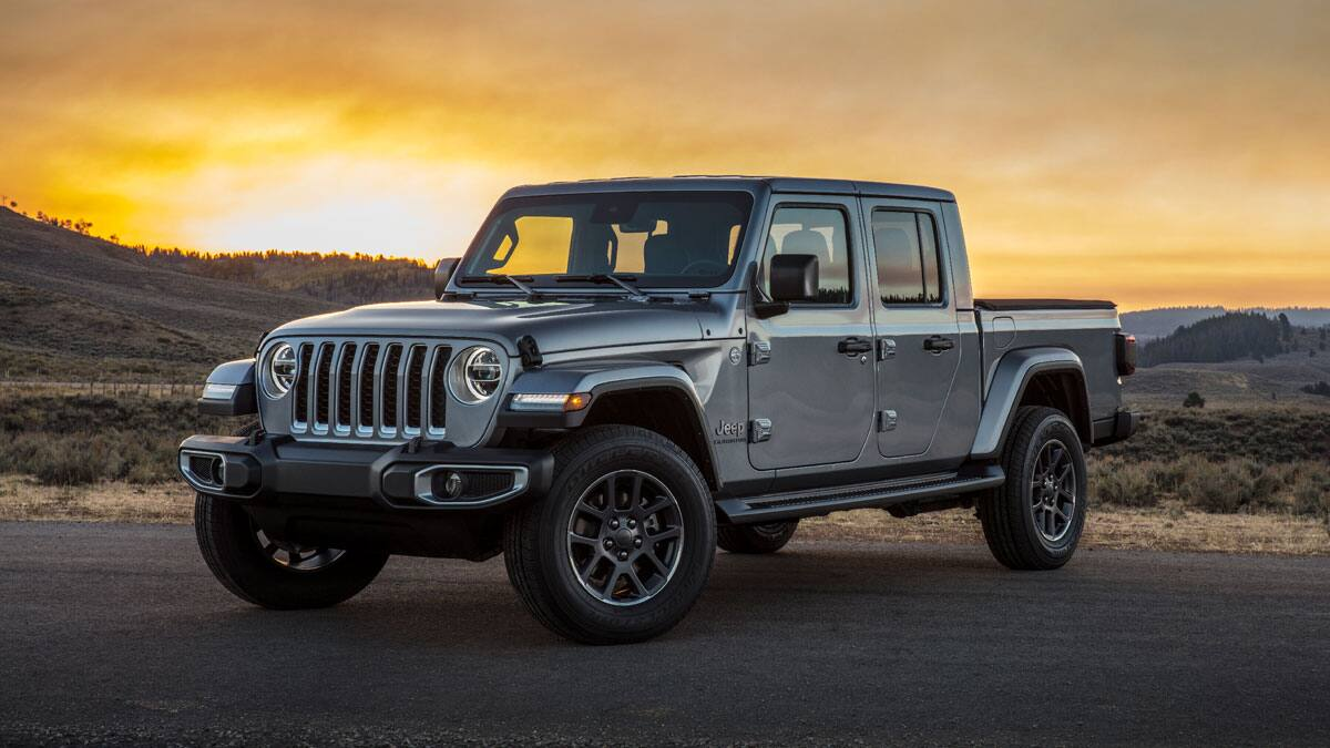 2020 Jeep Gladiator on desert road