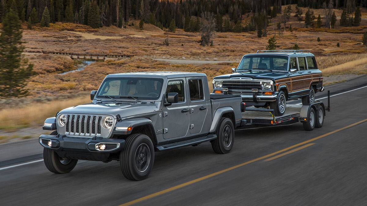 2020 Jeep Gladiator Towing Jeep Wagoneer