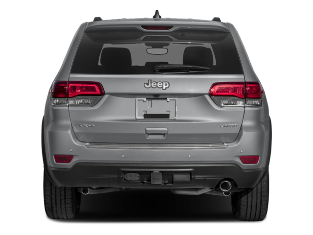 2018 Jeep Grand Cherokee rear view
