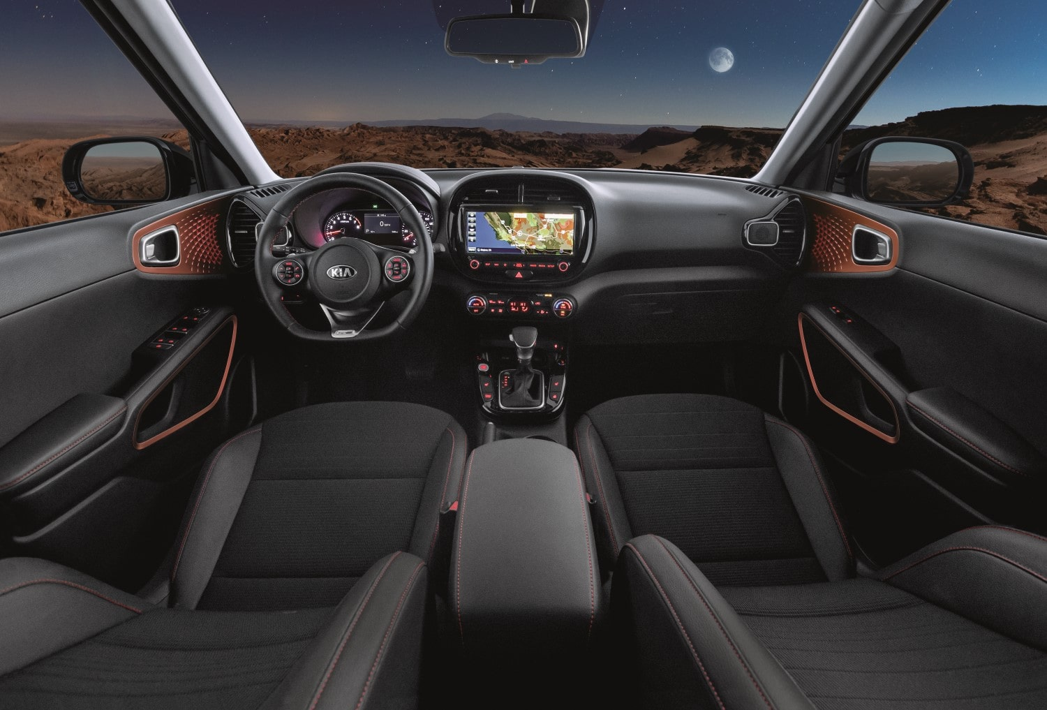 2020 Kia Soul GT-Line Turbo Interior front seats