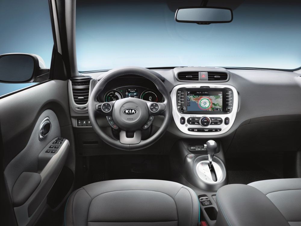 2019 Kia Soul EV Steering Wheel