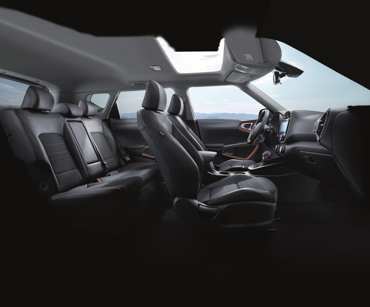 2020 Kia Soul GT-Line Interior side-view