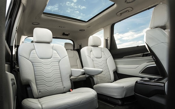 Kia Telluride interior back seats