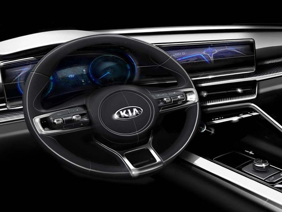 Kia Optima Interior Design