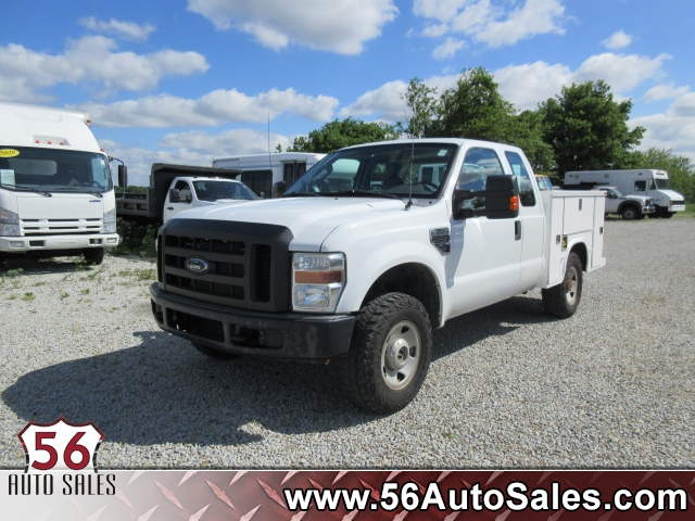 1999 Ford Super Duty F-250 Utility Truck, 14247A, Photo 1