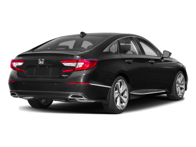 Black 2018 Honda Accord rear view