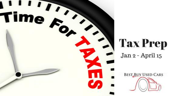 Tax Prep | Best Buy Used Cars