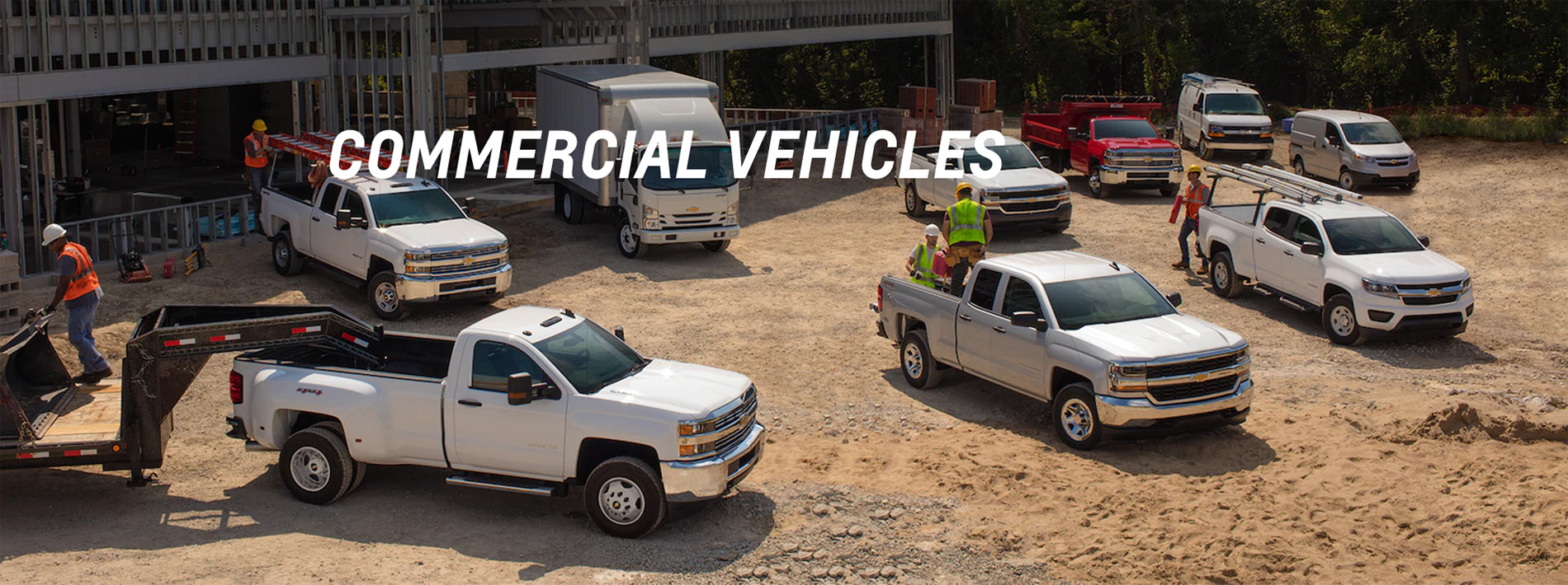 Chevy Commercial Vehicle Banner