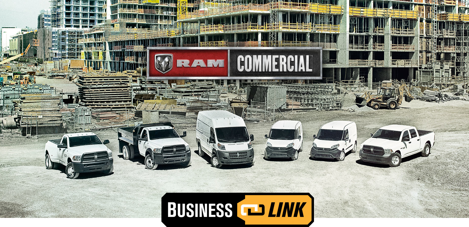 Ram Commercial Vehicle Banner