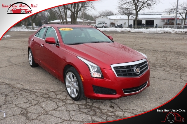 2016 Cadillac ATS Sedan 2.0T AWD, 157654, Photo 1
