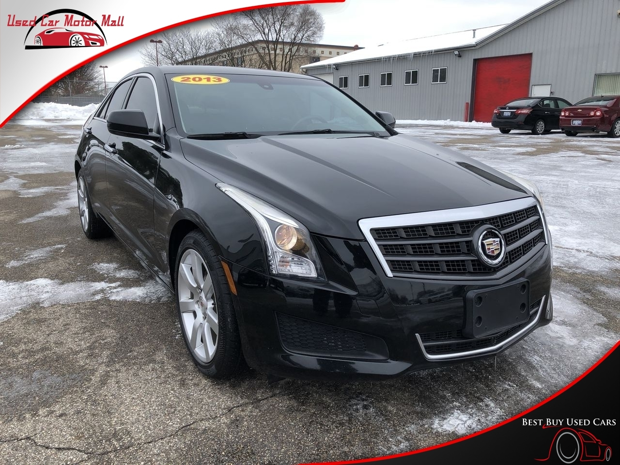 2018 Cadillac ATS Sedan 3.6L Premium Luxury AWD, 126000, Photo 1