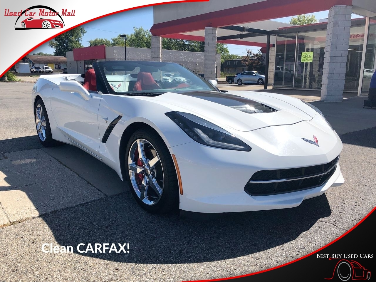 2015 Chevrolet Corvette Stingray Coupe w/2LT, 100642, Photo 1