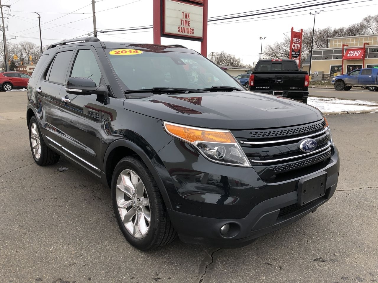 2014 Ford Explorer XLT 4WD, B76843, Photo 1