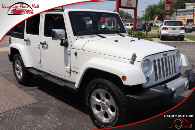 2014 Jeep Wrangler Unlimited Sahara 4WD, 234328, Photo 1
