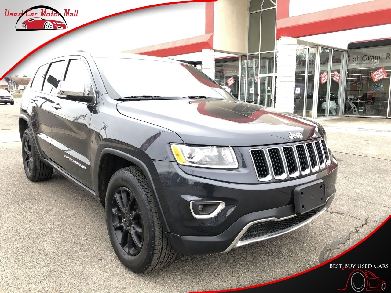 2015 Jeep Grand Cherokee Overland 4WD, 846659, Photo 1