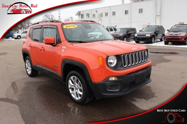 2015 Jeep Renegade Limited 4WD, B93160, Photo 1