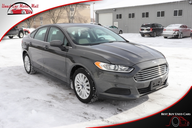 2016 Ford Fusion SE AWD, 235225, Photo 1