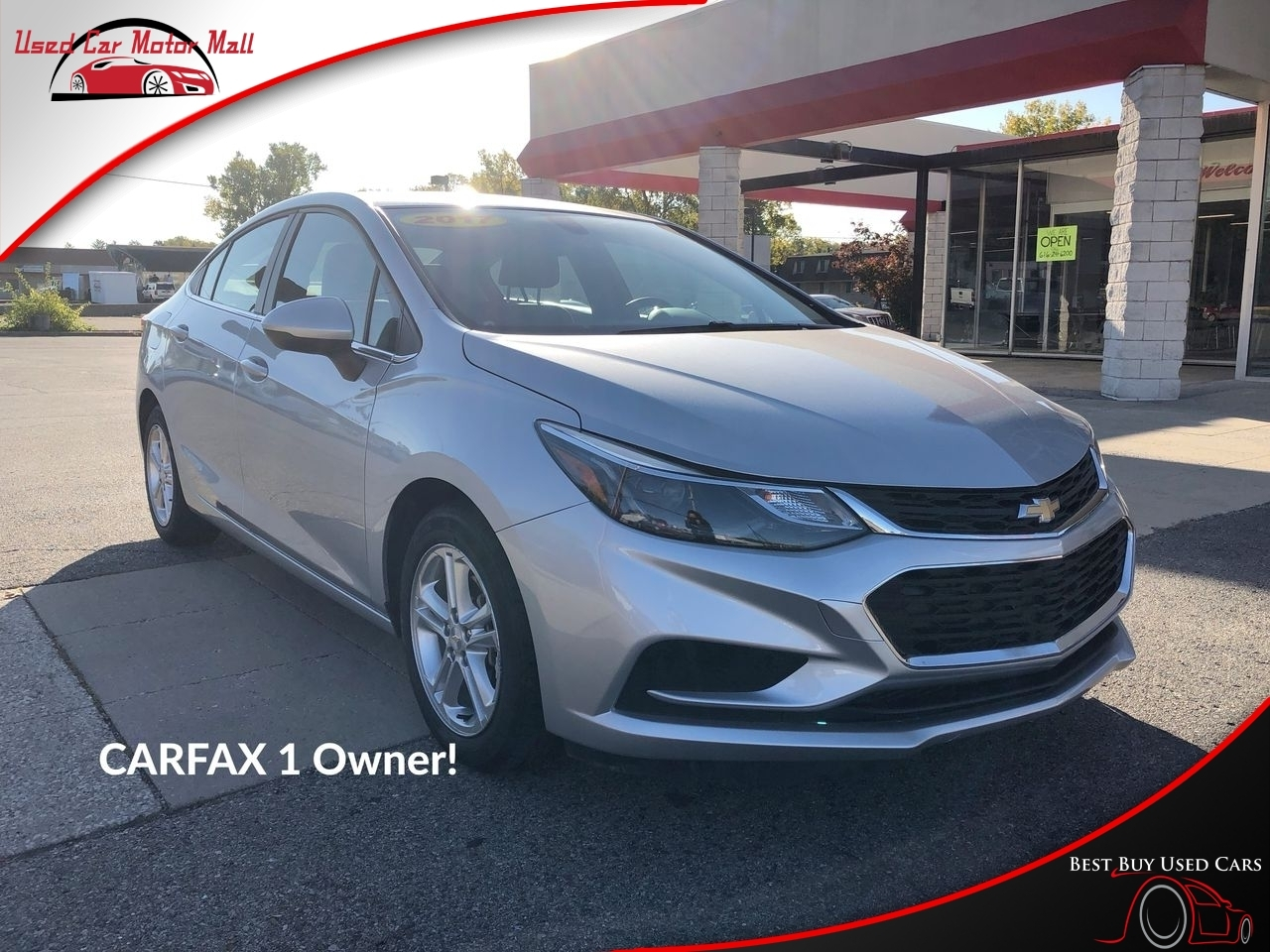 2017 Chevrolet Cruze LT, 253368, Photo 1